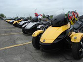 2008 brp rallies can am spyder roadster owners for the first homecoming owners event