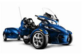 2009 brp launches the can amr spydertm rttm roadster.